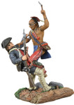 Wm. Britian - Eastern Woodland Indian and Colonial Militia Hand-to-Hand Set