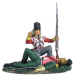 Wm. Britain - British 44th Foot Light Company Looting French Officer