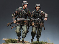 Alpine Miniatures - Waffen SS Infantry