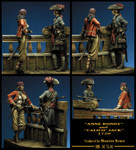 Romeo Models - Anne Bonny and Calico Jack, 1720 Pirates