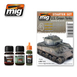 Ammo Of Mig - US Green Vehicles Starter Set