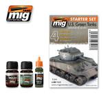 Ammo Of Mig - US Green Vehicles Starter Set