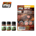 Ammo Of Mig - Pigment Rust Set