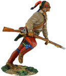 Wm. Britain - Eastern Woodland Indian Running with Musket No.2