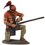 Wm. Britain - Eastern Woodland Indian Kneeling Priming Musket