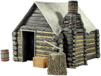 Wm. Britain - American Civil War Winter Hut No.1