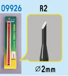 Trumpeter Models Micro Chisel: 2mm Round Tip