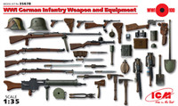ICM Models WWI German Infantry Weapons and Equipment