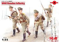 ICM Models WW1 Russian Infantry
