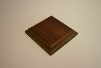 Wood Figure Flat Base