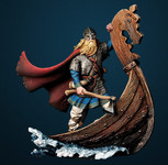 Andrea Miniatures: The Vikings - Drakkar Raider, 750 AD