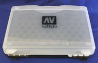 Vallejo Empty Plastic Storage Case