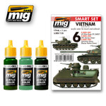 AMMO of Mig Vietnam Colors Smart Acrylic Set