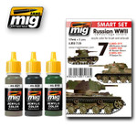 AMMO of Mig Russian WWII Smart Acrylic Set