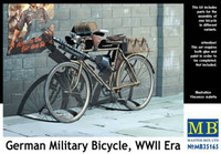 Master Box Models WWII German Military Bicycle