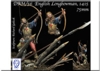 Alexandros Models English Longbowman in Agincourt