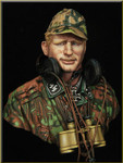 Young Miniatures German WAFFEN SS Panzer Officer WWII