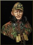 Young Miniatures - German Waffen SS Panzer Officer