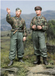 Alpine Miniatures - SS Panzer Recon Crew Set