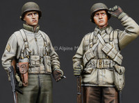Alpine Miniatures - WW2 US Infantry Set