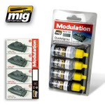 Ammo Of Mig - Dunkelgrau (Dark Grey) Modulation Set