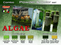 Lifecolor Algae Powder & Color Acrylic Set