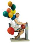"Andrea Miniatures Pin Up 32 - ""Naughty Ballons"""