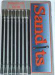 Hobby Stix Sandits: 120/180 Grit Round Tip Sanding Stick w/Plastic Stem