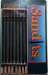 Hobby Stix Sandits: 400/800 Grit Round Tip Sanding Stick w/Plastic Stem
