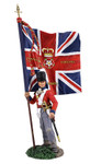 Wm. Britain - British 1st Foot Guard Battalion Company Ensign with Regimental Colour No. 1