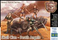 Master Box Model Desert Battle: Skull Clan Death Angles Women Warriors