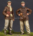 Alpine Miniatures - WW2 French  Tank Crew Set - SALE