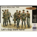 Master Box Models  Let's Stop Them Here! German Military Men 1945
