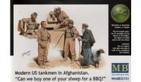Master Box Models Modern US Tankmen Afghanistan