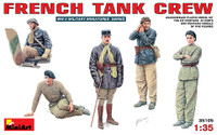 Miniart Models - French Tank Crew