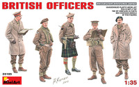 Miniart Models British Officers