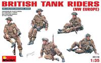 Miniart Models British Tank Riders (NW Europe)