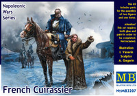 Masterbox Models  - Napoleonic Wars French Mounted Cuirassier & Russian Girl Winter Dress