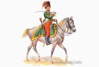 Masterbox Models Napoleonic War French Hussar