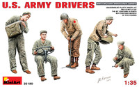 Miniart Models WWII US Army Drivers