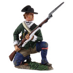 Wm. Britain Loyalist Butler's Ranger Kneeling at Ready, 1780-1784