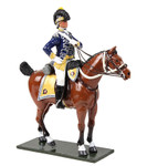 Wm. Britain British 10th Light Dragoons Officer Mounted, 1795