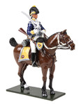 Wm. Britain British 10th Light Dragoons Trooper Mounted No.1, 1795