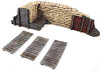 Wm. Britain WWI/WWII Trench Section with Duckboards