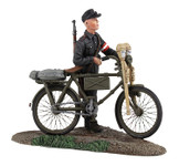 Wm. Britain German Hitler Youth Pushing Bicycle No.1