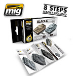 AMMO of MIG  Black & White Technique Set