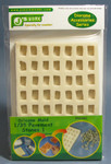 J Works Models Silicone Mold for 1/35 Rectangle Pavement Stones