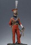 Metal Modeles - Officer, Red Lancer of the Guard 1813