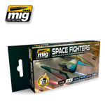 Ammo of MIG Space Fighters Sci-Fi Colors