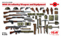 ICM Models WWI US Infantry Weapon & Equipment